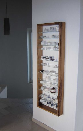 Regal Nb mit Glastablaren